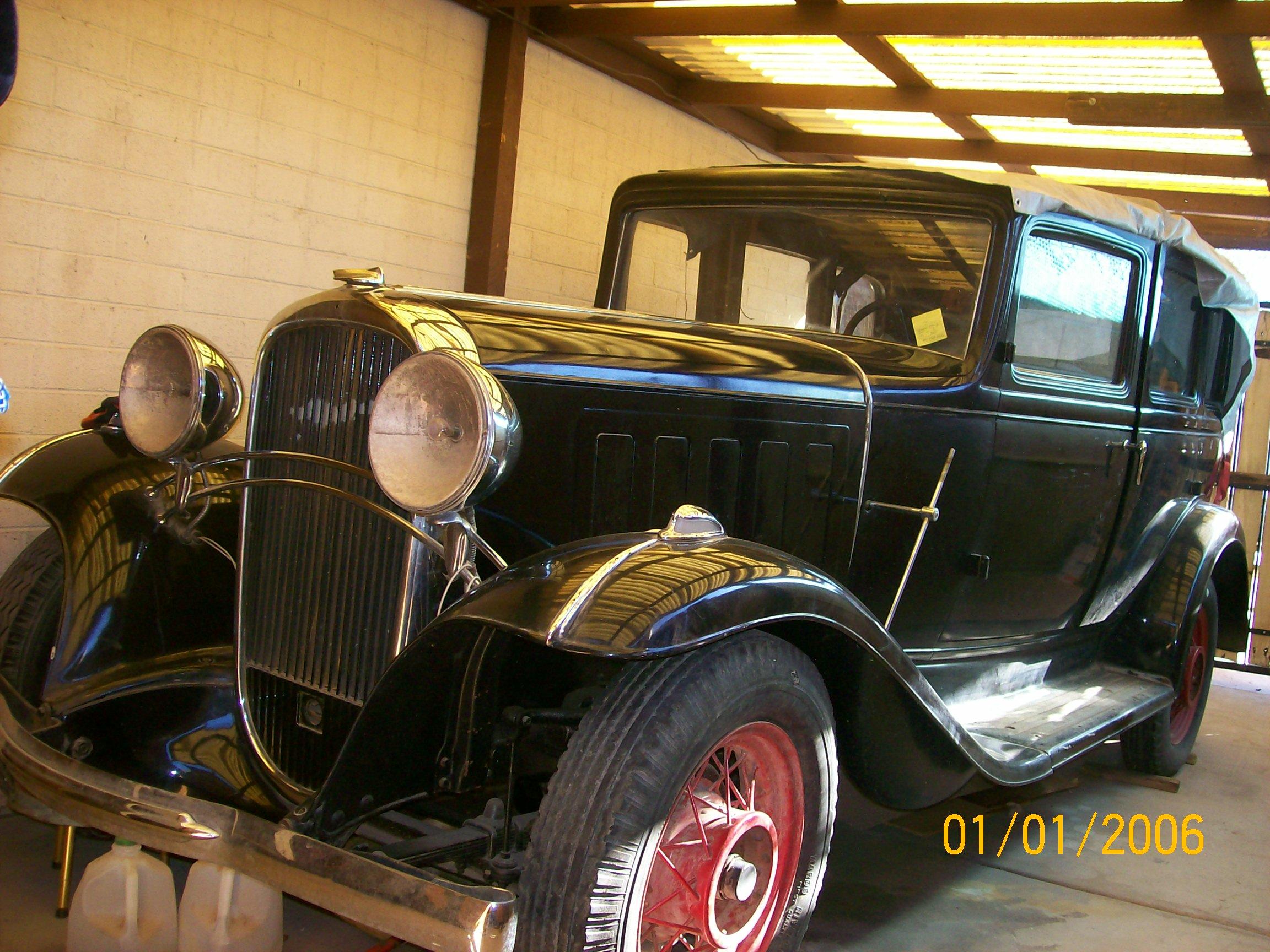 Uncle joe 39 s cars for 1932 oldsmobile 4 door